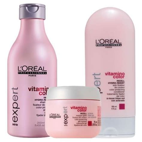 Dijamin Tancho Treatment Hair Dye L l oreal professional vitamino color shoo conditioner and masque for keeping your