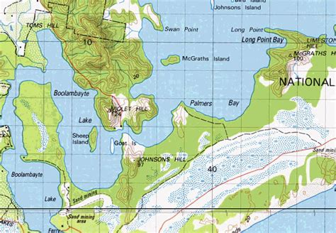Section Maps South Australia by 100k New South Wales And South Australia Digital