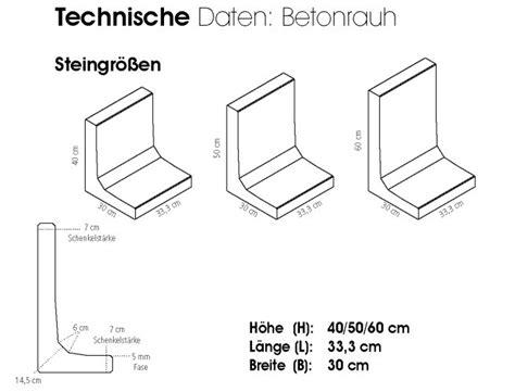 L Steine Aus Beton by L Steine Billig Mischungsverh 228 Ltnis Zement