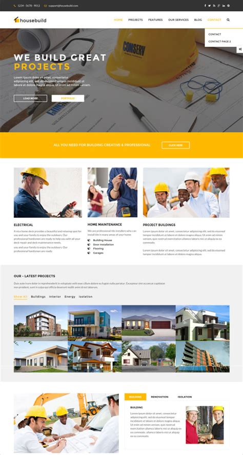 themes wordpress engineering 42 engineering website themes templates free