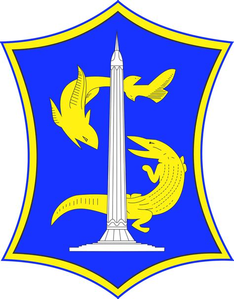 Lambang Surabaya vector lambang logo surabaya tumplek blek