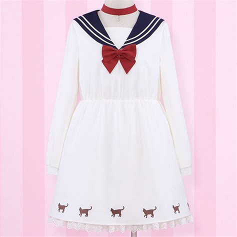 Dres Sailor F sailor moon costume japanese bow dresses 183 kawaii