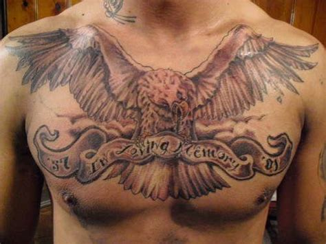 eagle under breast tattoo 121 best hot men chest tattoos collection images on