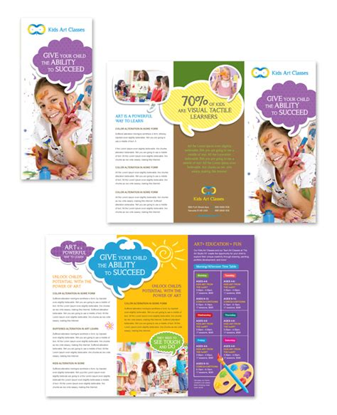 brochure template for kids csoforum info