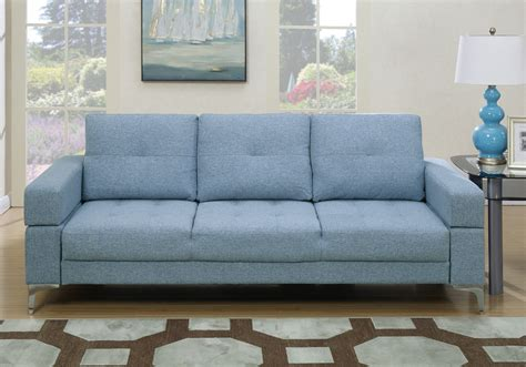 light blue tufted sofa living room adjustable sofa bed couch futon tufted light