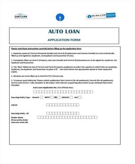 format html auto 7 loan contract form sles free sle exle