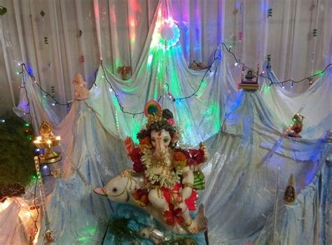 ganpati decoration ideas at home with theme ganpati 186 best ganpati decoration ideas images on pinterest