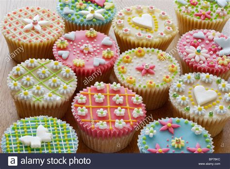 Decorated Cupcakes by Highly Decorated Cupcakes Or Cakes Stock Photo Royalty Free Image 30893280 Alamy
