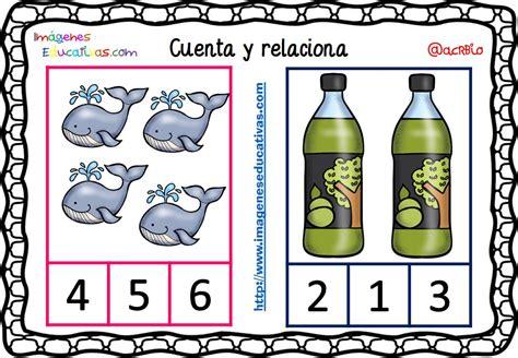 imagenes educativas cuenta y relaciona fichas para aprender a contar 14 imagenes educativas