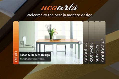 Neoarts Html5 Templates Themes Html5 Animated Website Templates