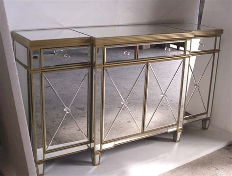 z gallerie mirrored console table mr 401062b glass mirrored cabine t buffet mirrored