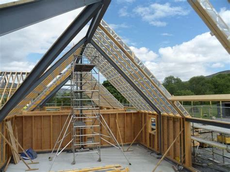 vaulted ceiling trusses 40 vaulted parallel chord truss search venue ideas roof trusses