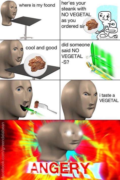 Meme Man - no vegetal meme man know your meme