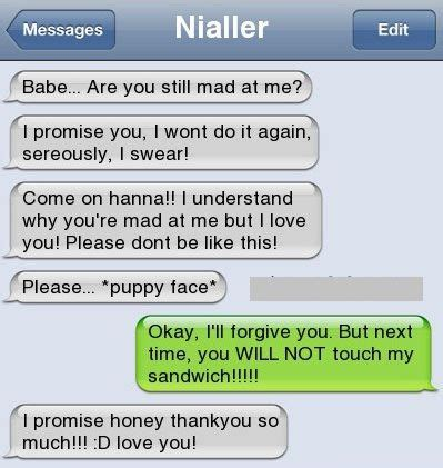 funny text messages bfgf     bfgf forgive    fight lolntroll funny