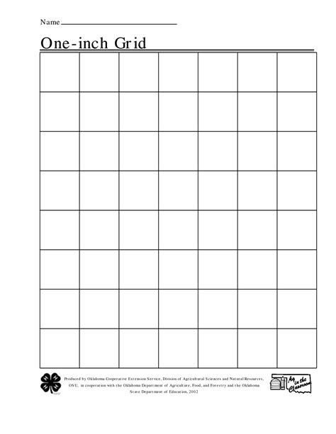 printable graph paper 4 squares per inch free printable 1 inch grid paper math pinterest math