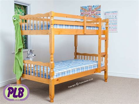 Verona Bunk Beds Verona Wooden Bed Bunk Pine Bed Great Prices At Payless Beds
