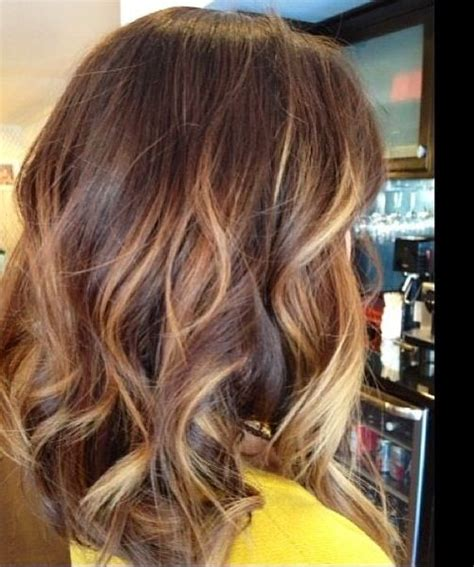 brunette hair color with highlights pinterest brunette with blonde highlights color hair pinterest