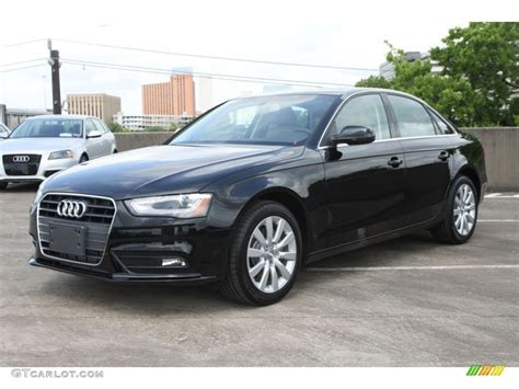 brilliant black 2013 audi a4 2 0t sedan exterior photo