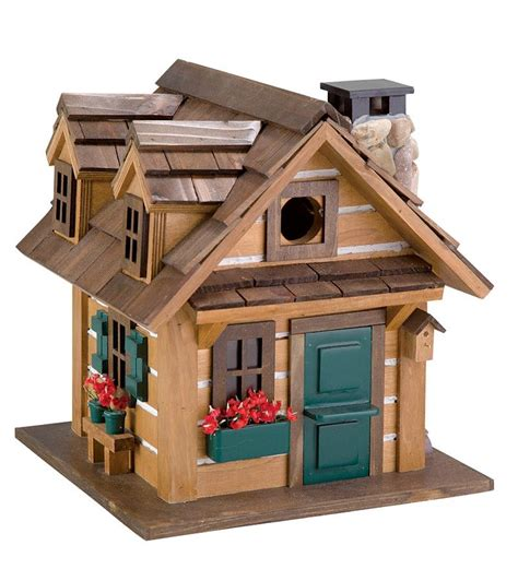 log house plans free log cabin birdhouse plans free