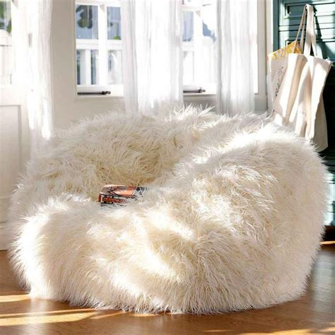 Design Ideas For Fuzzy Bean Bag Chair 40 Adorable Warm Fur Furniture Pieces For Fall And Winter Digsdigs