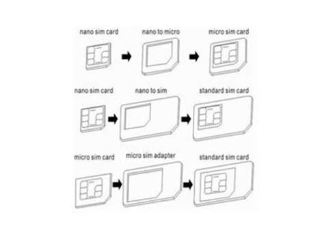 membuat sim nano cara memotong sim card yang benar
