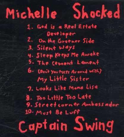 michelle shocked captain swing michelle shocked captain swing ric vintage records shop