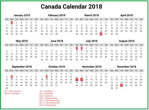 printable calendar 2018 bc canada canada calendar 2018 calendar 2018
