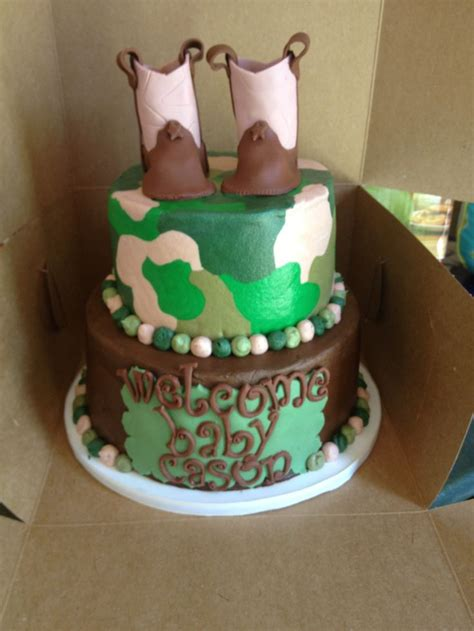 Baby Shower Cakes Camo by Camo Baby Shower Cake Ideas And Designs