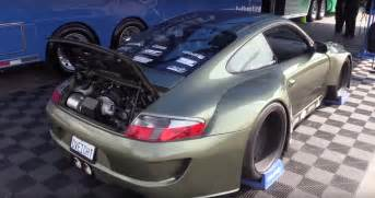 At Porsche Porsche 911 With Ls3 V8 And Wide Kit Looks Like A