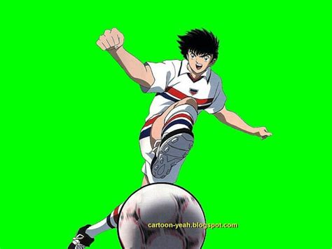 film kartun sepak bola gambar kartun captain tsubasa ozora