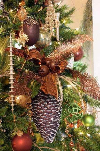 christmas ornaments bronze pinecones 13 best images about decorating with pine cones on woodland creatures terracotta