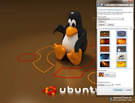download themes linux for windows 7 ubuntu linux windows 7 theme download