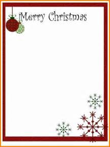 8 free christmas letter templates budget template