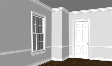 Colonial Trim nice colonial trim on interior decor apartment ideas