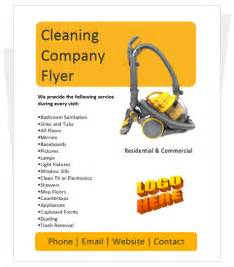 free cleaning flyer templates cleaning company flyer by cleaningflyer