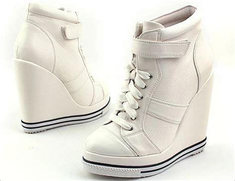 wedge sneakers shoes