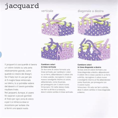 tutorial quilting italiano 45 best knitting tutorial italiano images on pinterest