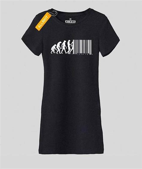 T Shirt Barcode barcode t shirt march of progress evolution shirts