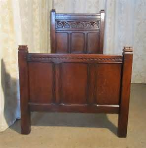oak twin bed gothic oak twin beds super king double by liberty antiques atlas