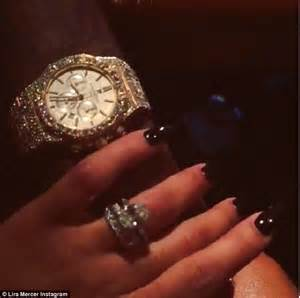rick ross proposes to lira mercer with 11 carat