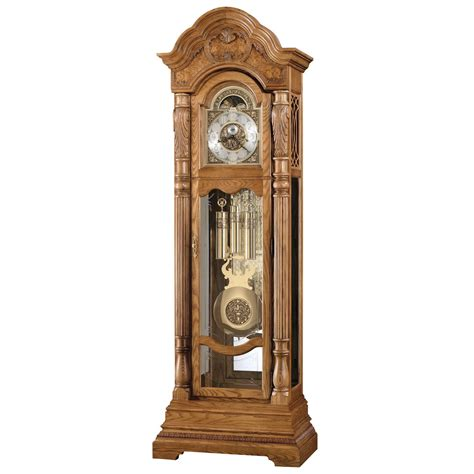 grandfather clock howard miller nicolette grandfather clock floor clocks at hayneedle