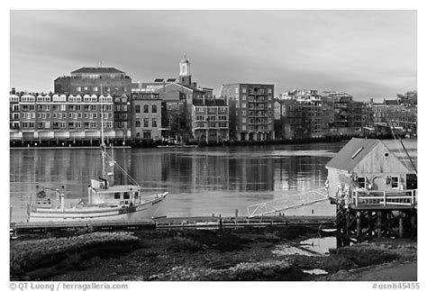 Sheds Usa Portsmouth Nh by Black And White Picture Photo Fishing Boat Shack And