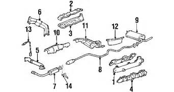 2001 Chevy Malibu Exhaust System Diagram 1998 Chevrolet Malibu Parts Mileoneparts