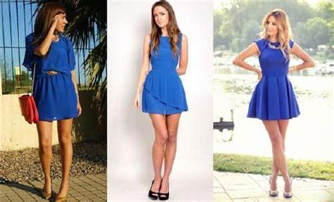 negro el color rey aprende c 243 mo combinar un vestido azul correctamente