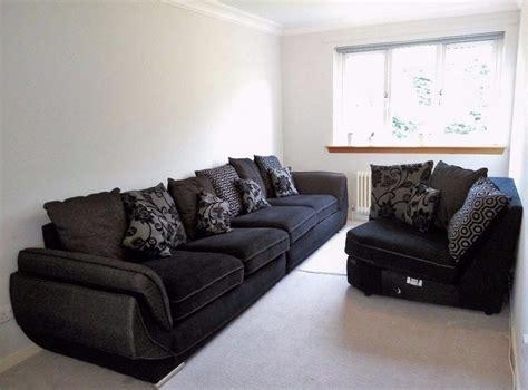 dfs sale urgent sale handmade dfs foam corner sofa black asap