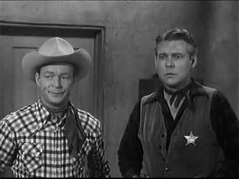 the roy rogers show quot luck story quot 1954 roy rogers dale