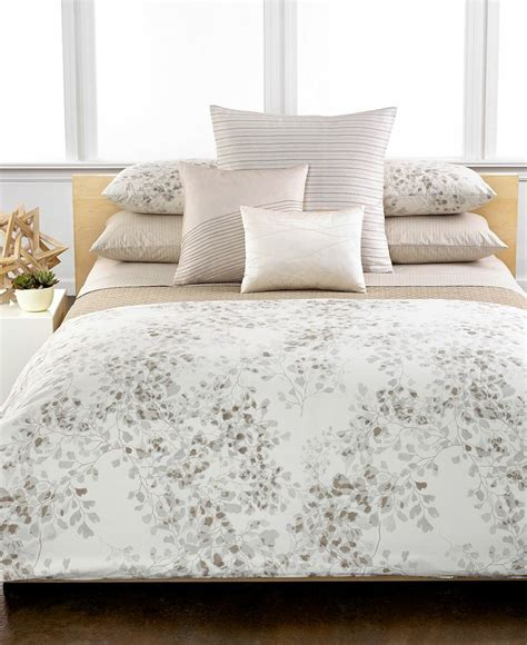 Calvin Klein Bed Set Calvin Klein Home Wellfleet Bedding Collection Bedding Collections Bed Bath Macy S