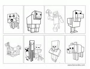 minecraft coloring pages az coloring pages