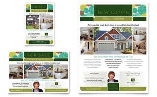 Real Estate Advertisement Template by Real Estate Flyer Ad Template Design