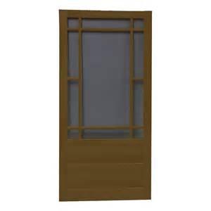 shop screen tight wood screen door common 30 in x 80 in